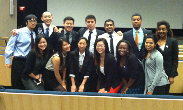 Thanks to all members of MGC who came out to support the nominees!