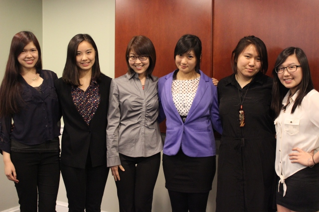 Lambda Phi Class - Spring 2013 (Not pictured: Natasha Scott)