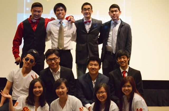 Top row, left to right: Albert Khim, Kevin Zeng, Shota Ono, Kevin Quach Middle row: Michael Chen, Eason Guo, Daniel Moon, Kevin Wu Bottom row: (contestant managers) Queena Jin, Leah Kim, Catherine Fu, Lizzi Nguyen